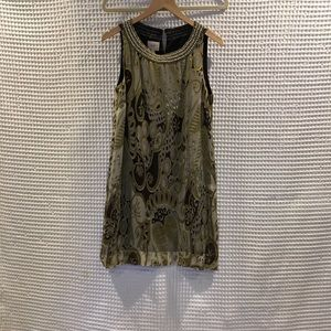 ECI New York silk blend dress